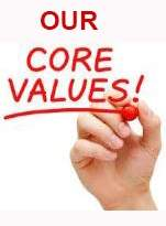 Building Contractor core values statement